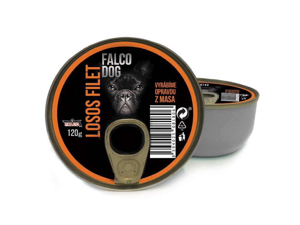 FALCO DOG losos filet 120 g
