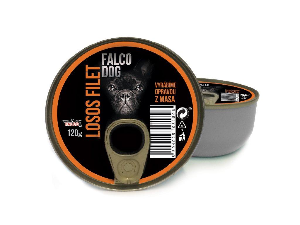 falco dog losos filet