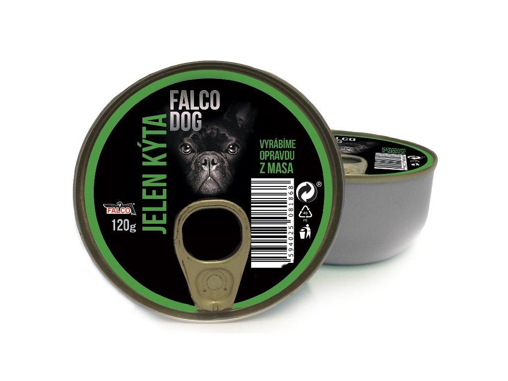 FALCO DOG masová konzerva jelení kýta 120 g