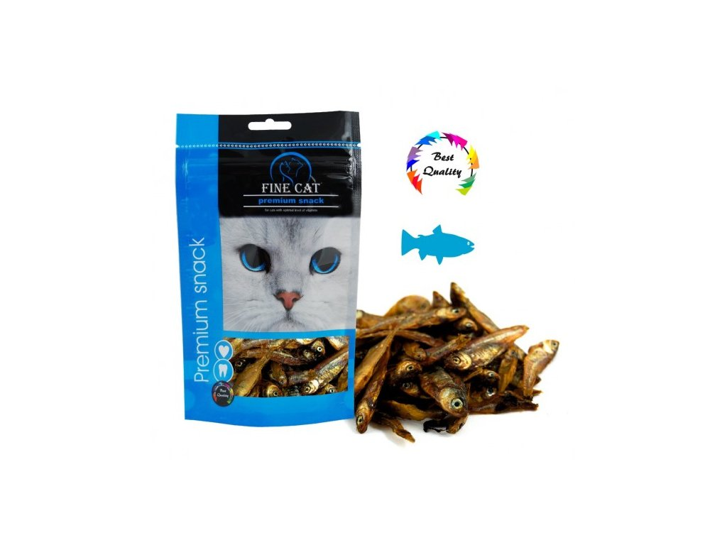 Fine Cat sušené Rybičky 40 g