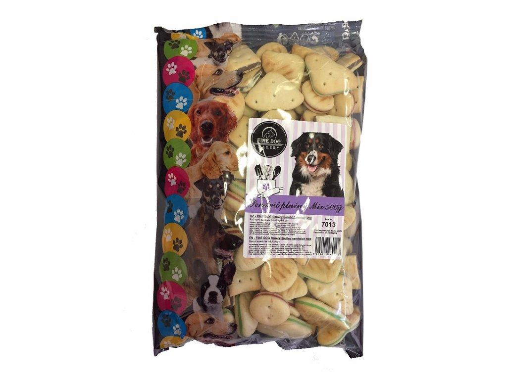 552 fine dog bakery sandwich mix snack 500g
