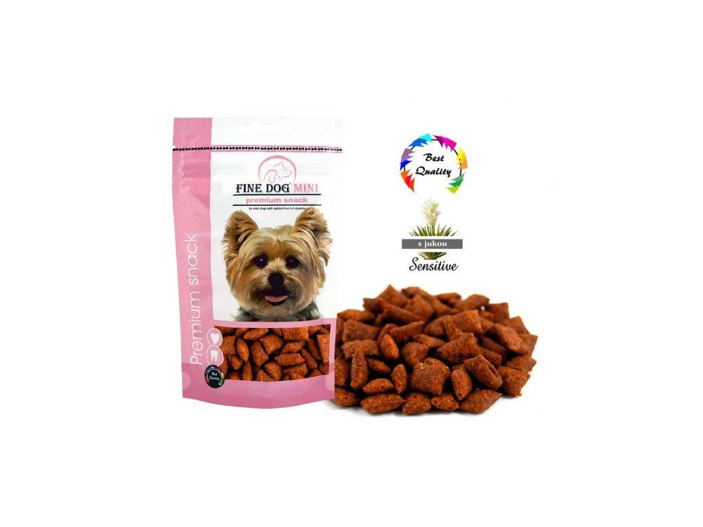 FINE DOG MINI Polštářek klobásový 100 g