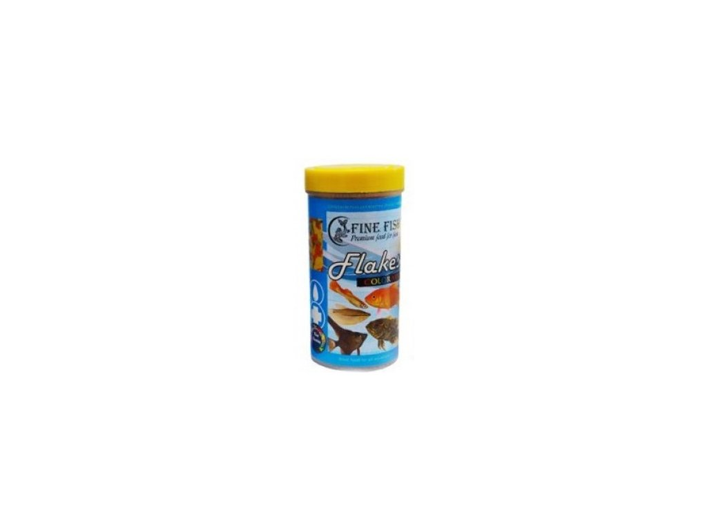 75 fine fish flakes 100ml 18g