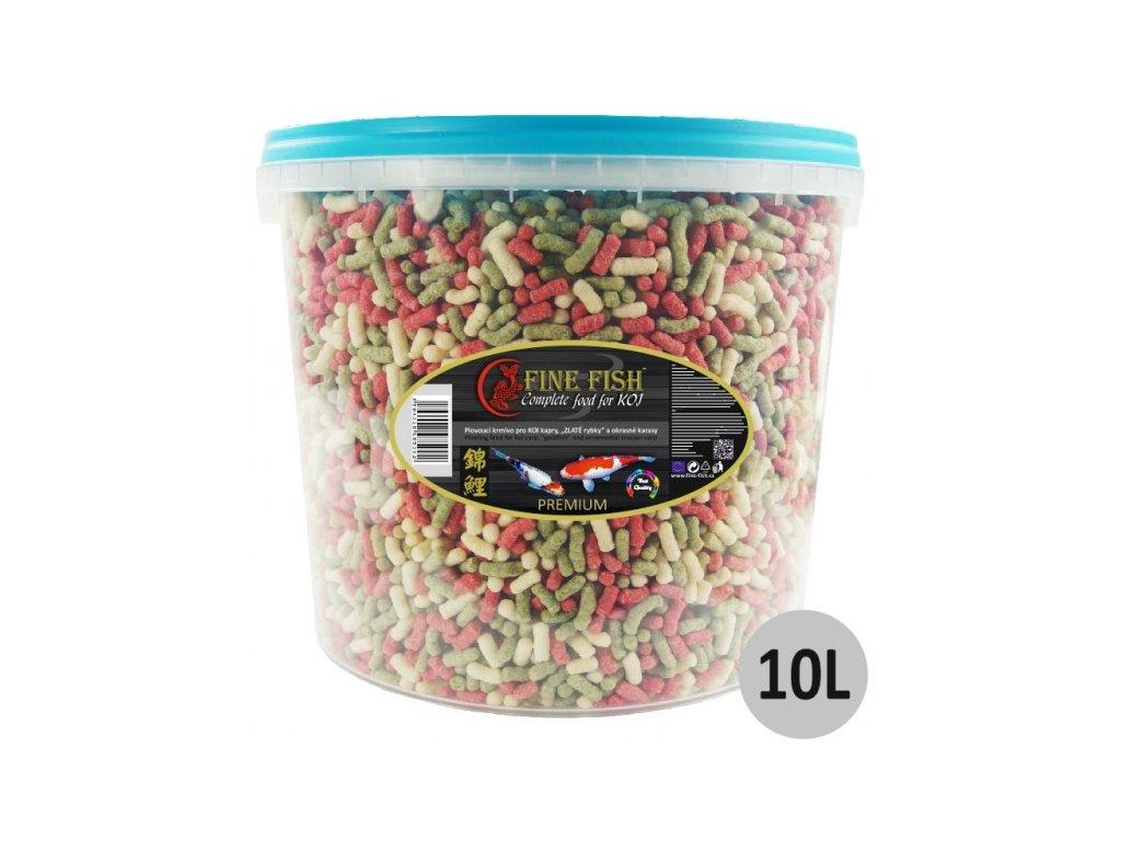 2325 fine fish koi sticks 10 litru vedro