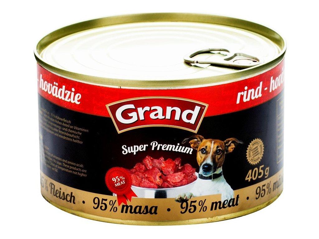 GRAND Superpremium hovězí 405 g