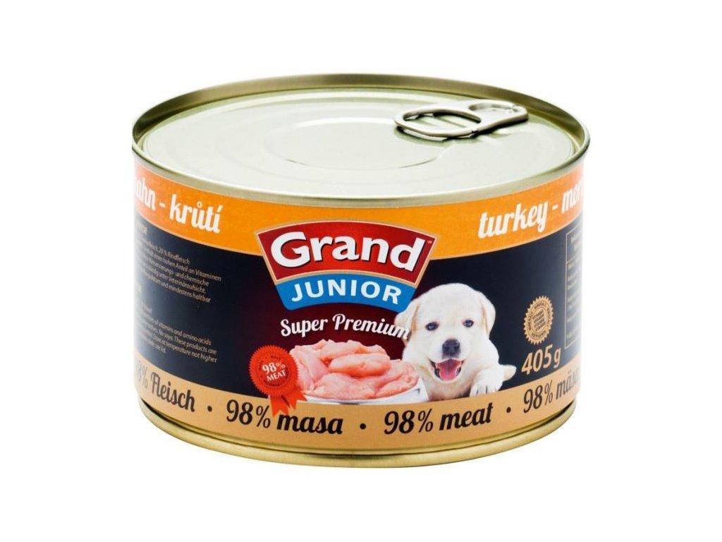 GRAND Superpremium krůtí JUNIOR 405 g