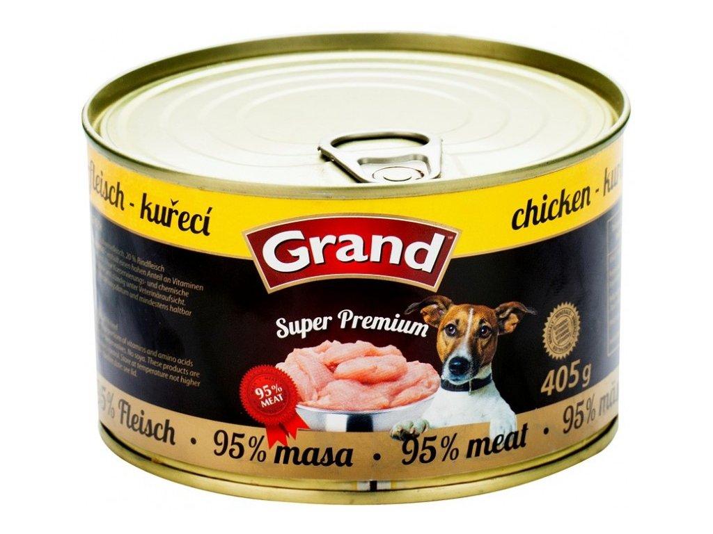 GRAND Superpremium kuřecí 405 g