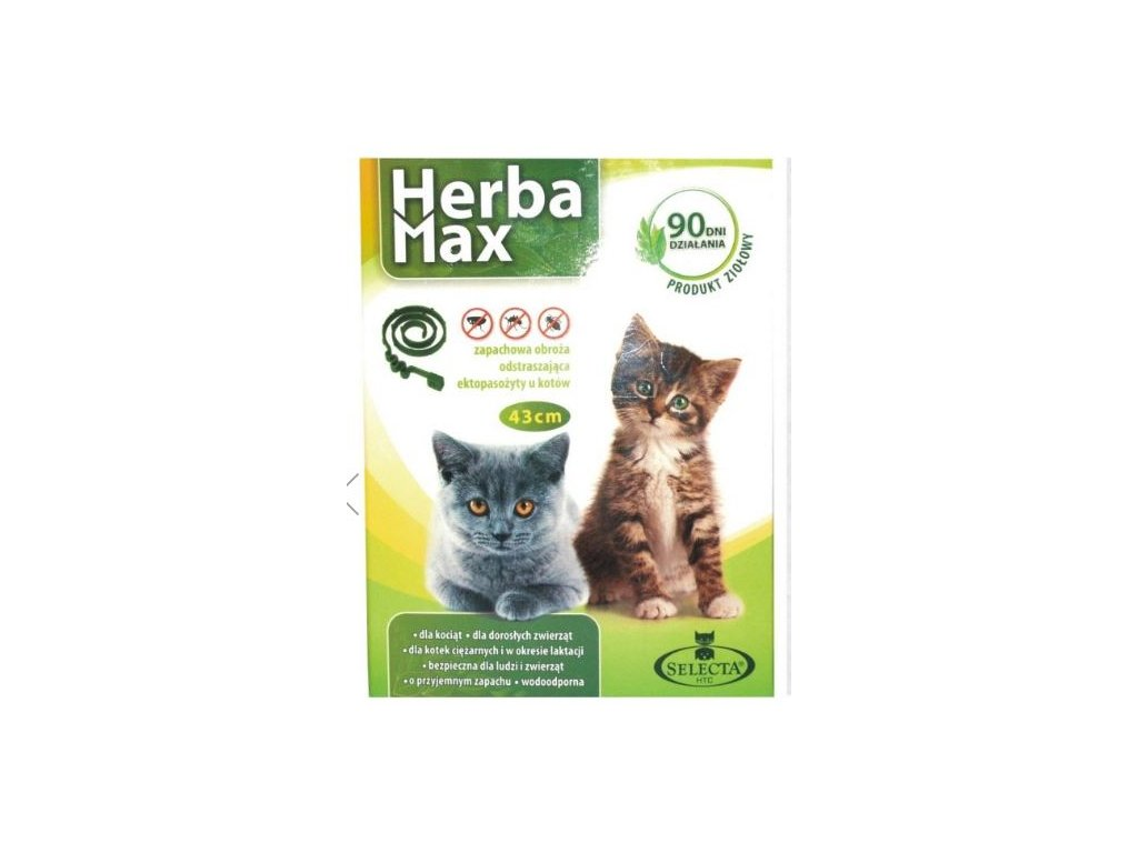 HERBA MAX Obojek pro kočky