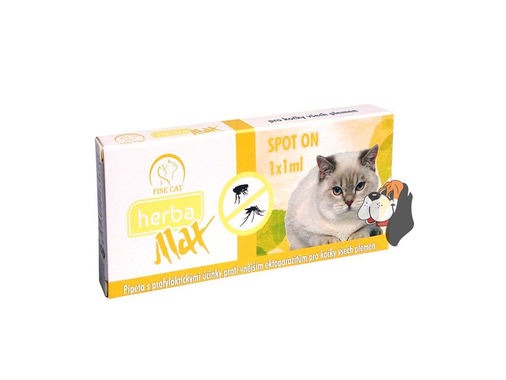 2307 herba max spoton cat 1x1ml