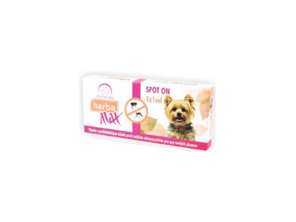 Herba MAX Spot-On pro malé psy 1x1 ml