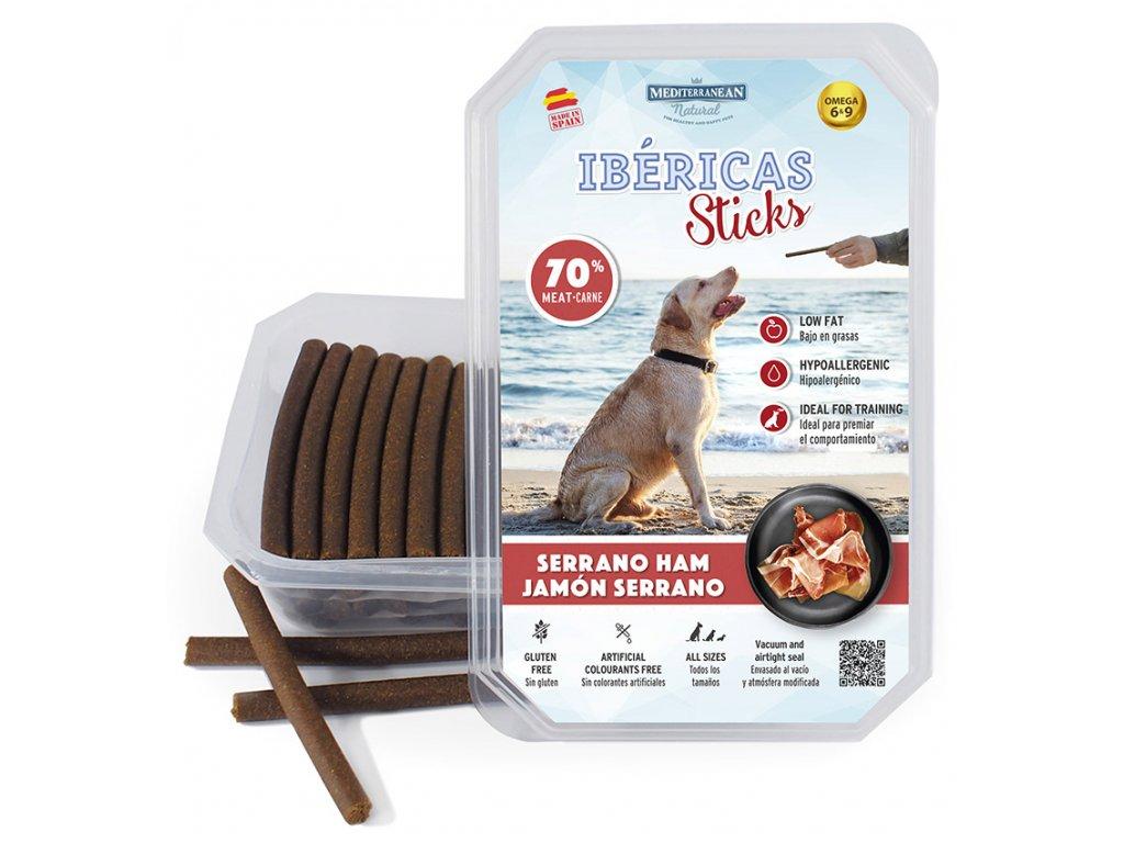 Ibéricas Sticks tyčinky šunka 75 ks