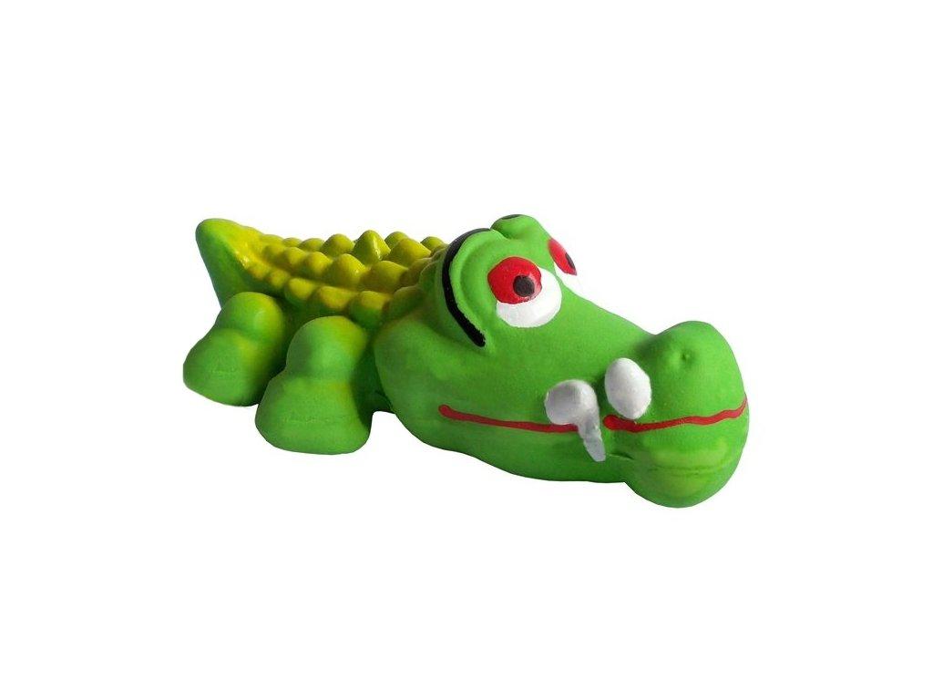 Latex Krokodýl 13 cm