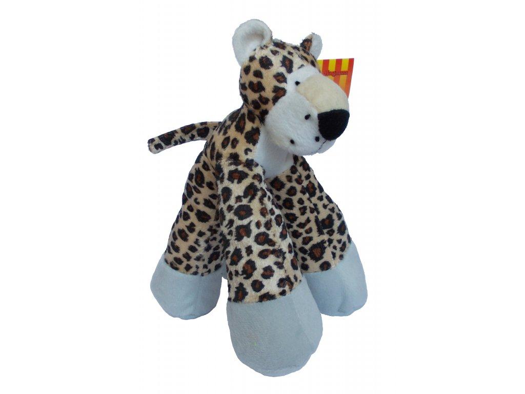 Leopard textil 22 cm
