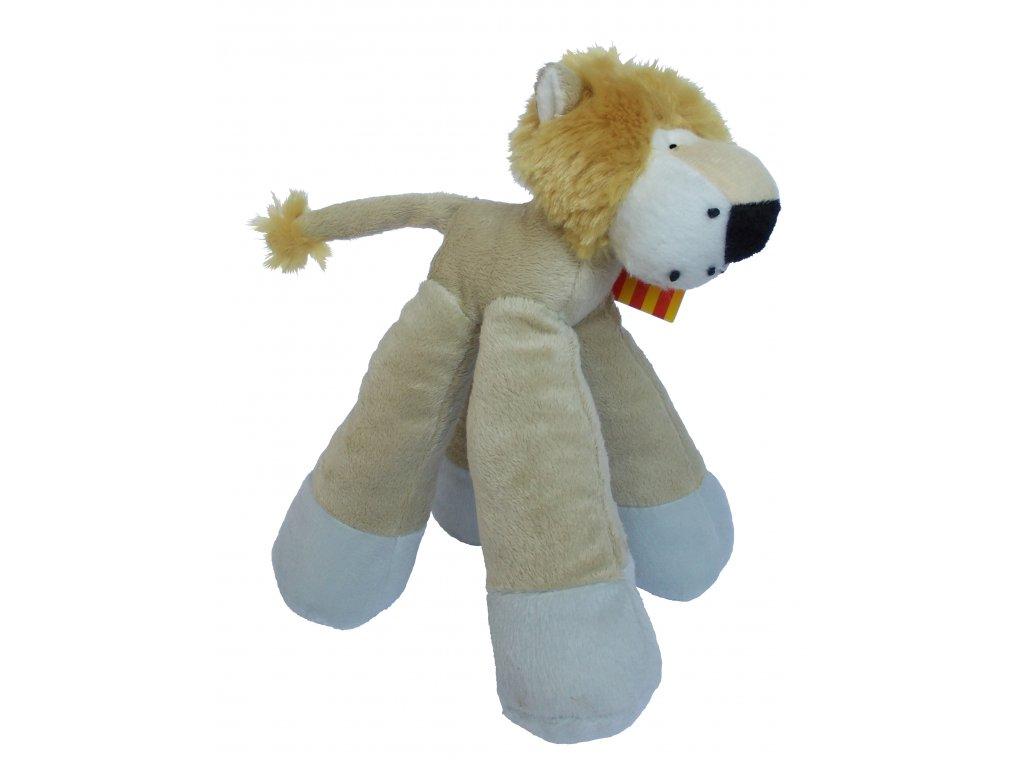 Hračka pro psy lev textil 22 cm