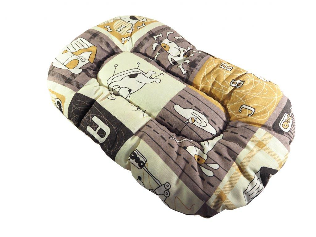 Magnum oválný polštář pro psy (vzor 59)
