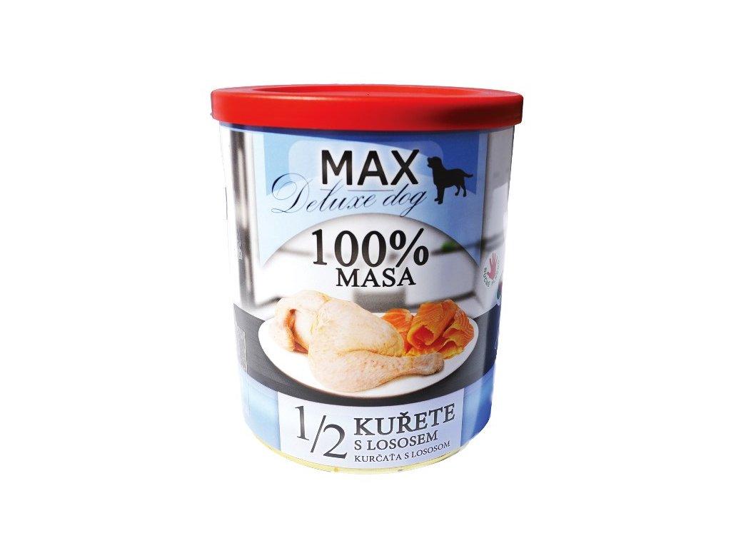 MAX deluxe 1/2 kuřete s lososem 800 g
