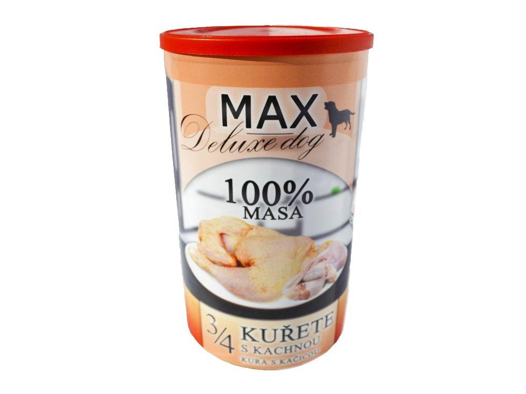 MAX deluxe 3/4 kuřete s kachnou 1200 g