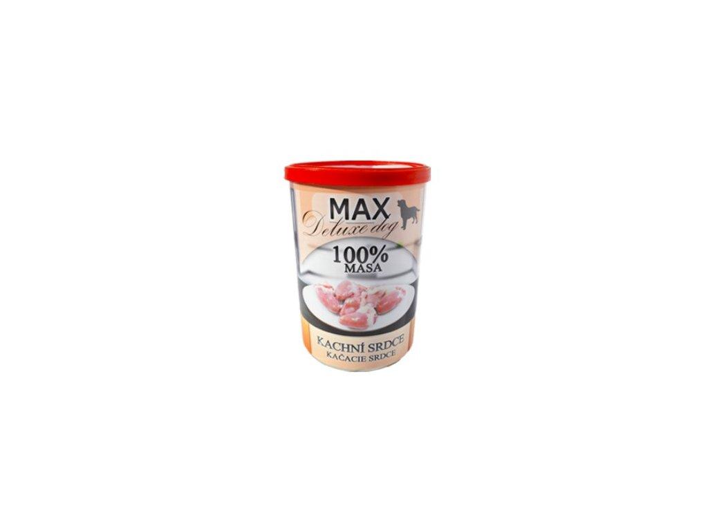 MAX deluxe kachní srdce 400 g