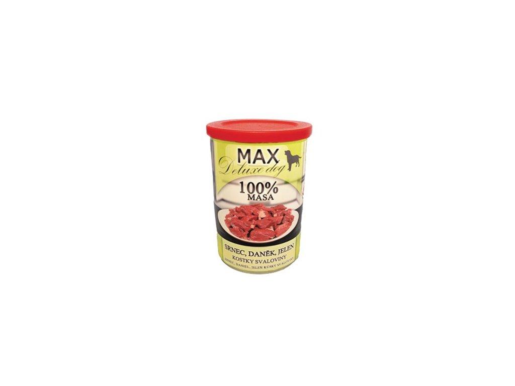 MAX deluxe srnec, daněk, jelen 400 g