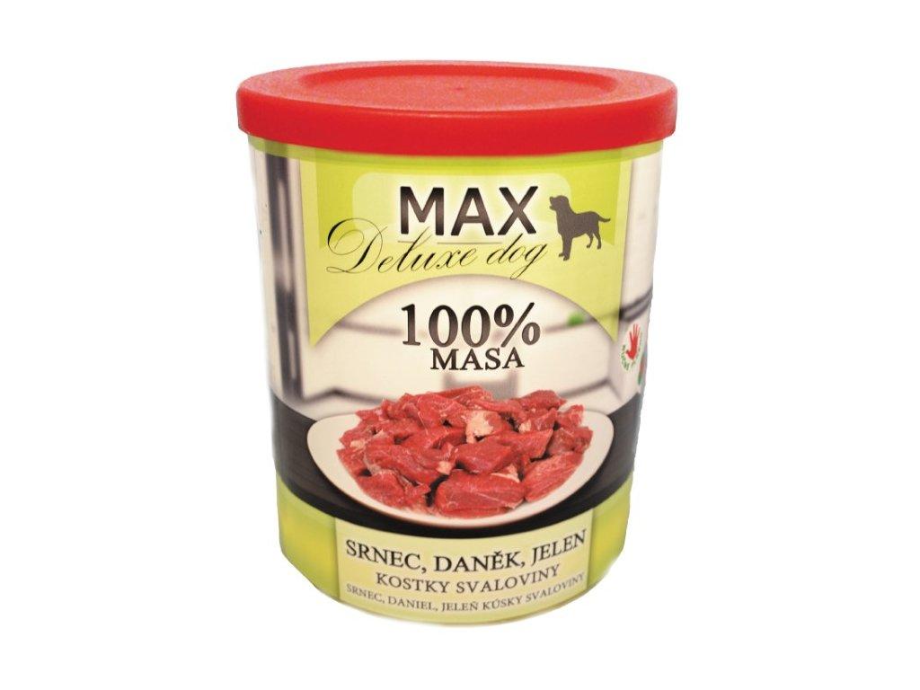MAX deluxe srnec, daněk, jelen 800 g