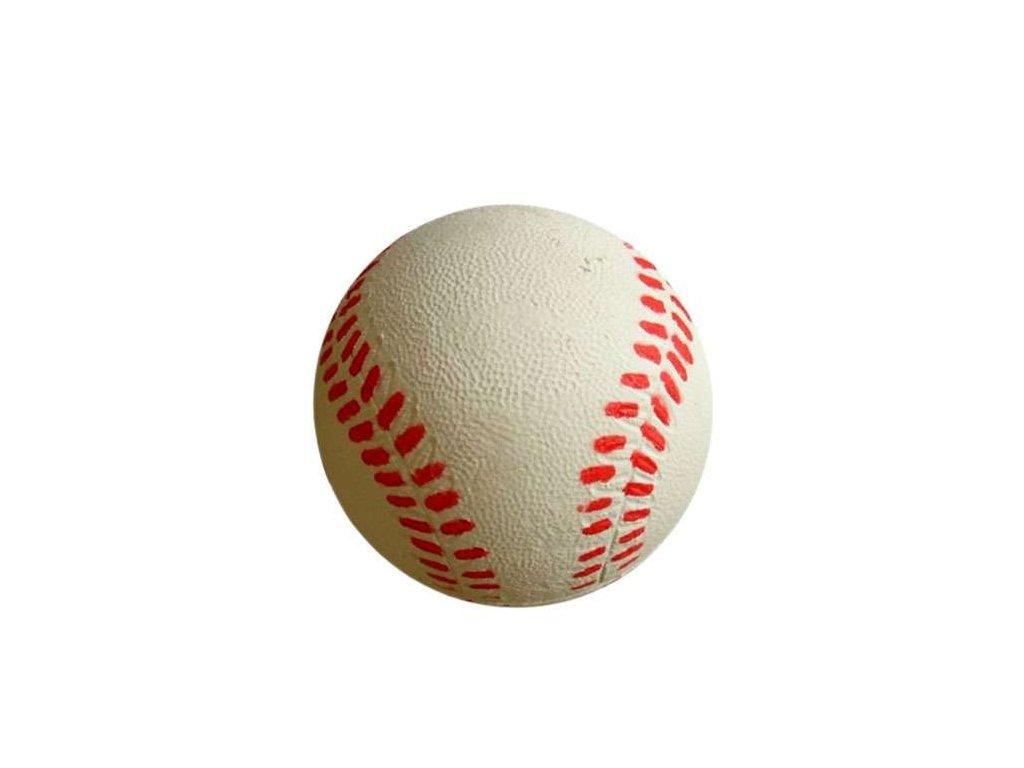 Míč baseball pěnový latex 6,3 cm