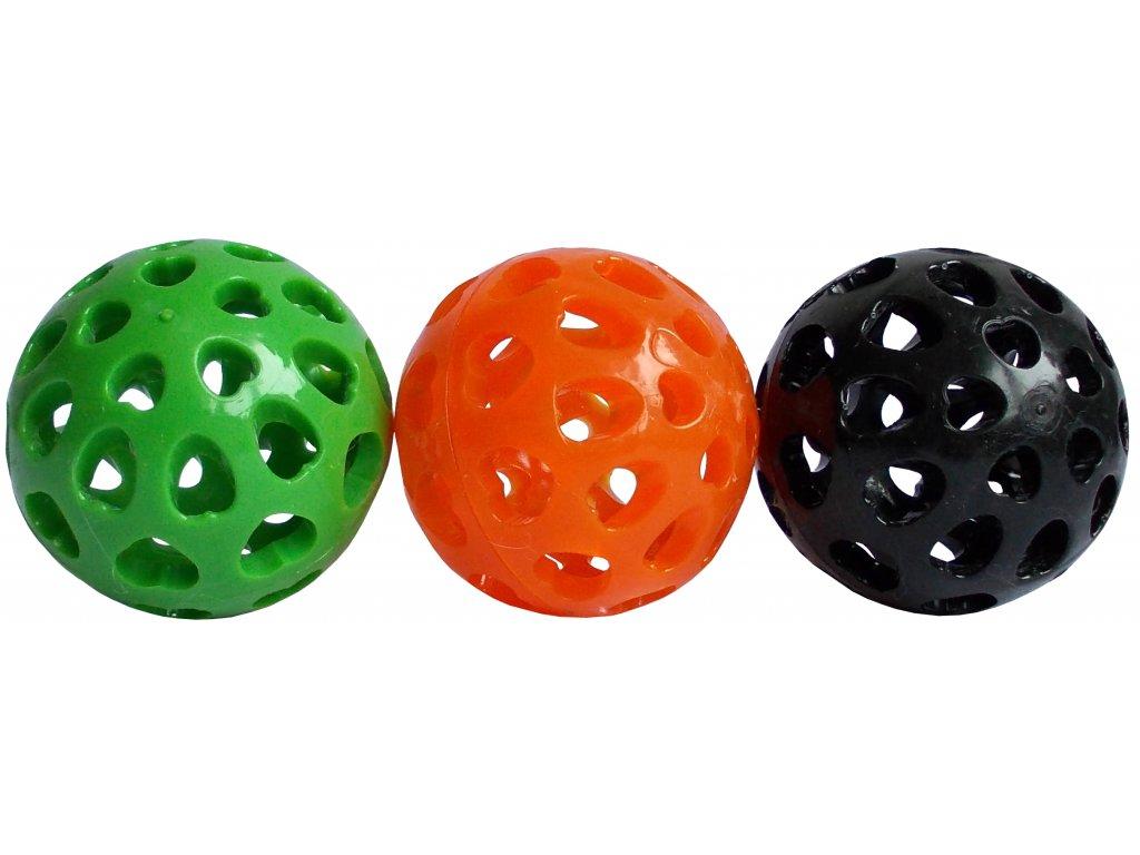 Míček pro psy děrovaný 6,5 cm