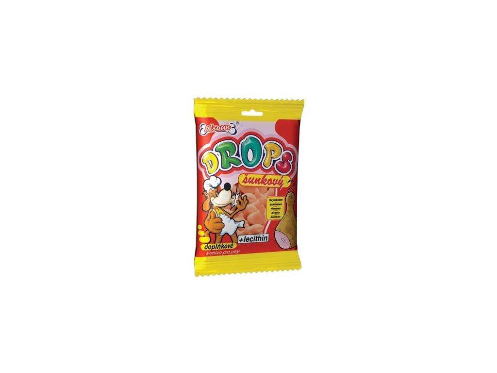 ML Drops Dog šunkový 75 g