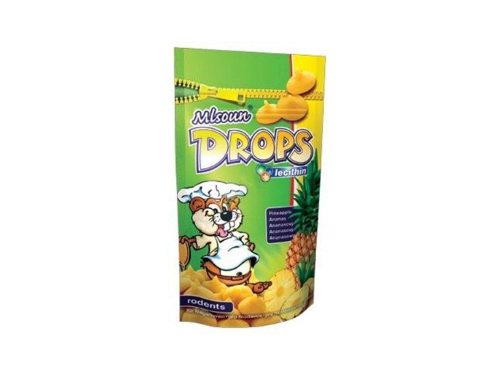ML Drops hlodavec ananas 75 g