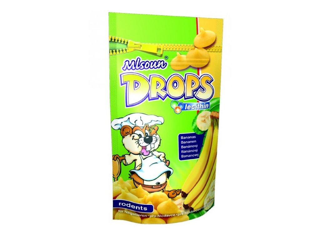 ML Drops hlodavec banán 75 g