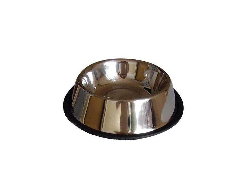 Nerezová miska pro kočky a štěňata 0,3 litrů