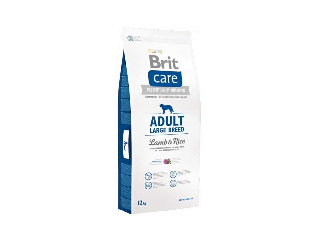 3531 new brit care adult large breed lamb rice 12kg