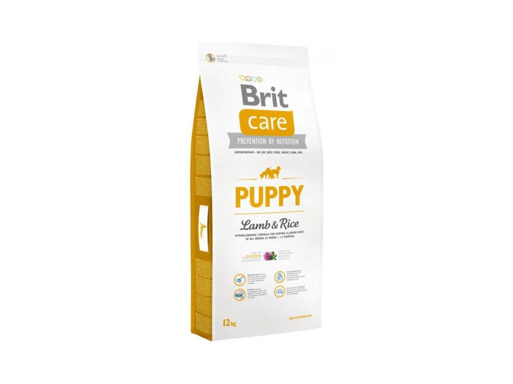 3495 new brit care puppy lamb rice 12kg