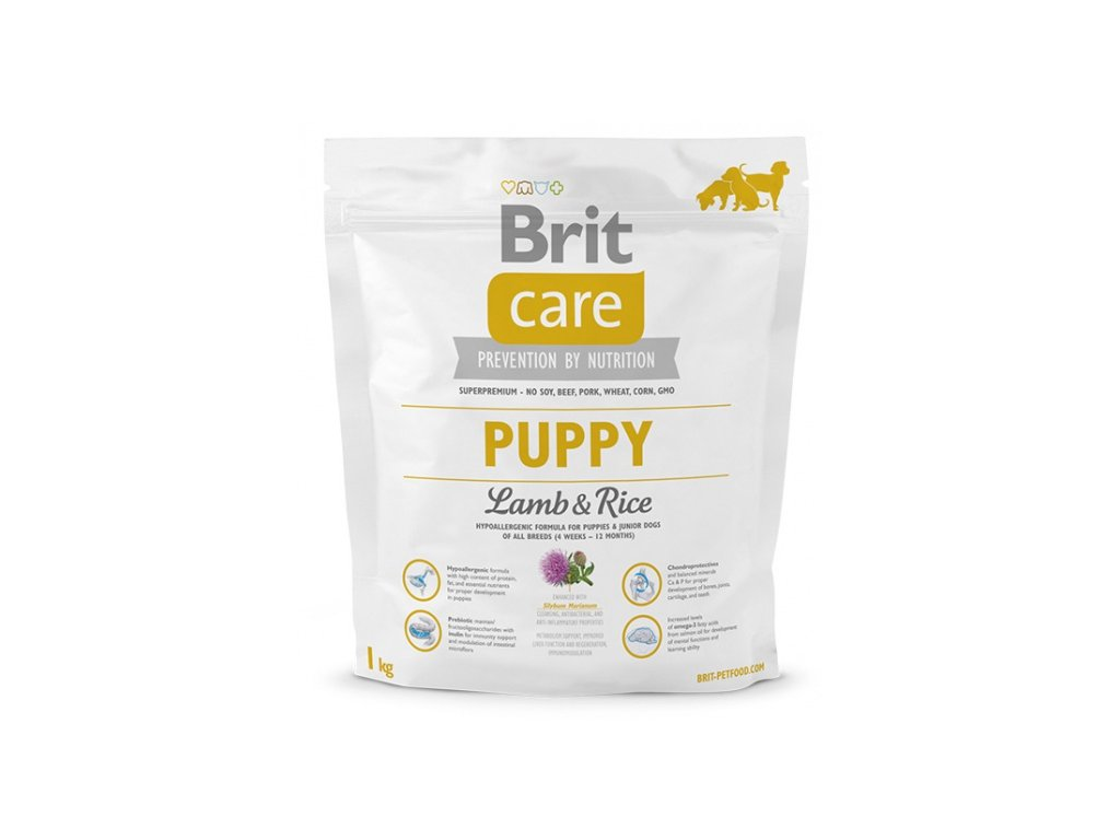 3501 new brit care puppy lamb rice 1kg