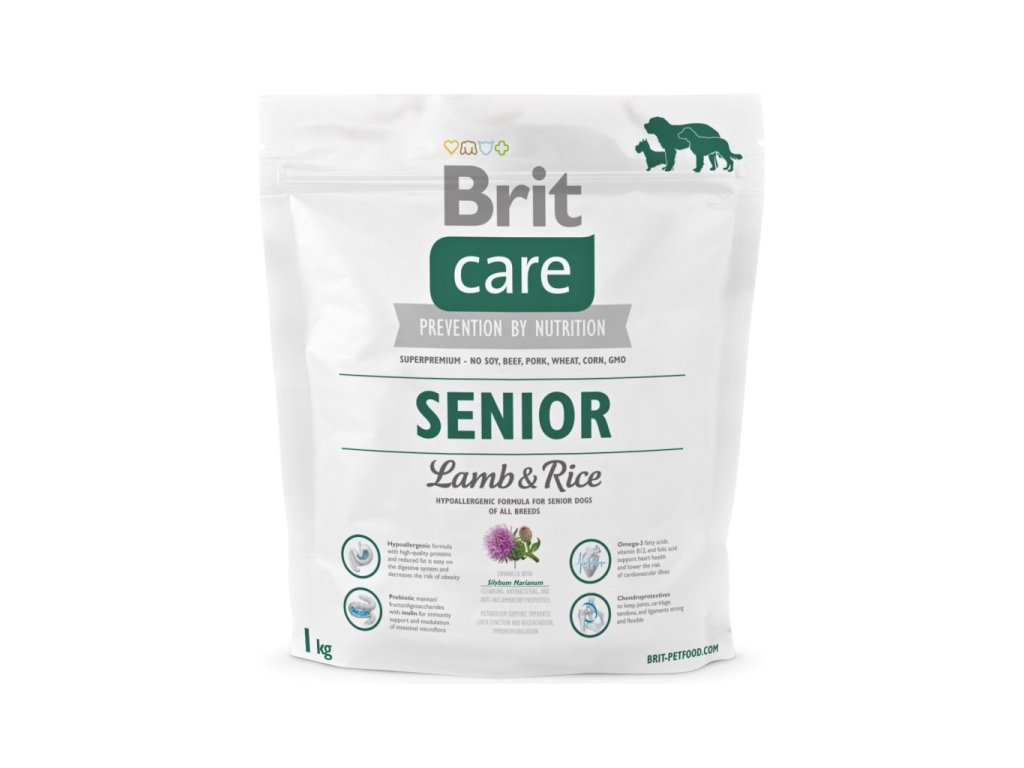 3546 new brit care senior lamb rice 1kg