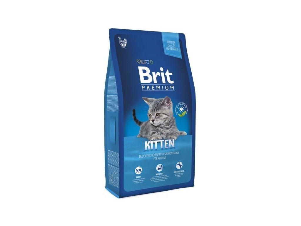 3897 new brit premium cat kitten 8kg
