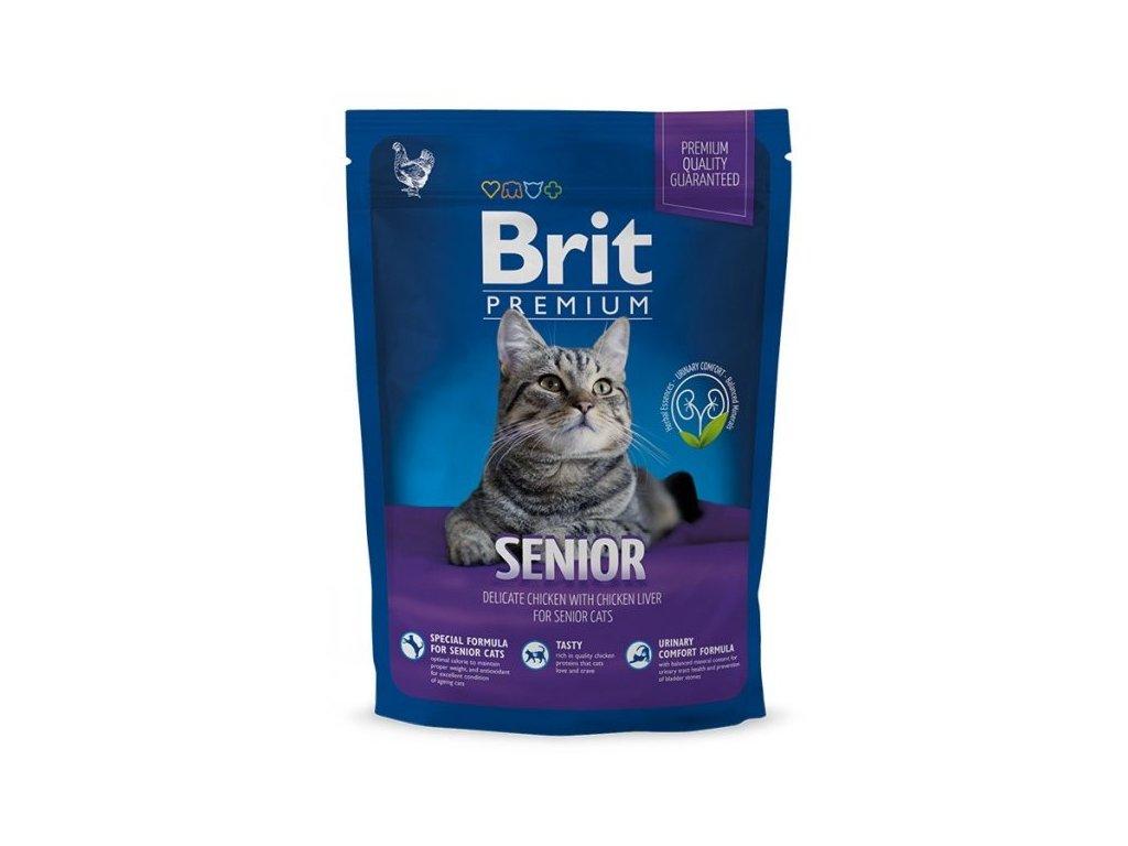Granule Brit Premium Cat Senior 300 g