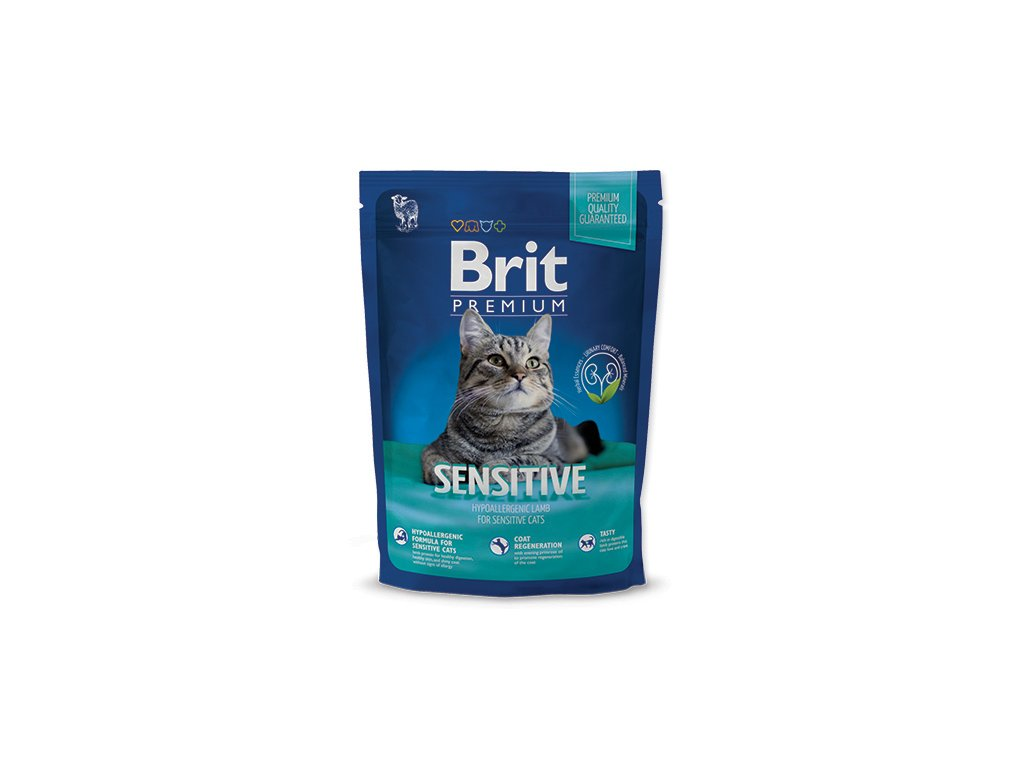 Granule Brit Premium Cat Sensitive 300 g