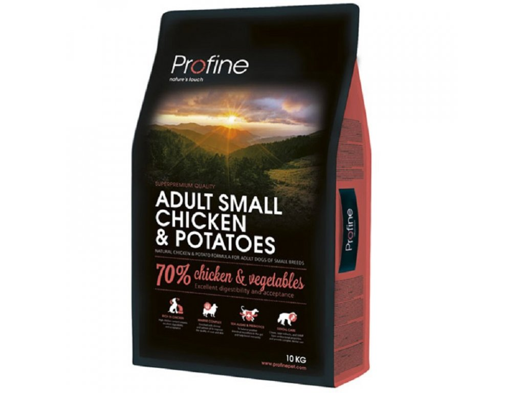 NEW Profine Adult Small Chicken & Potatoes 10kg | Tenesco.cz
