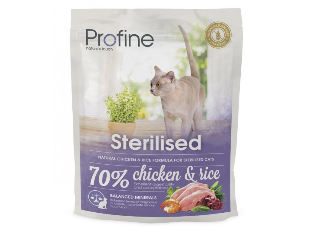 4401 new profine cat sterilized 300g