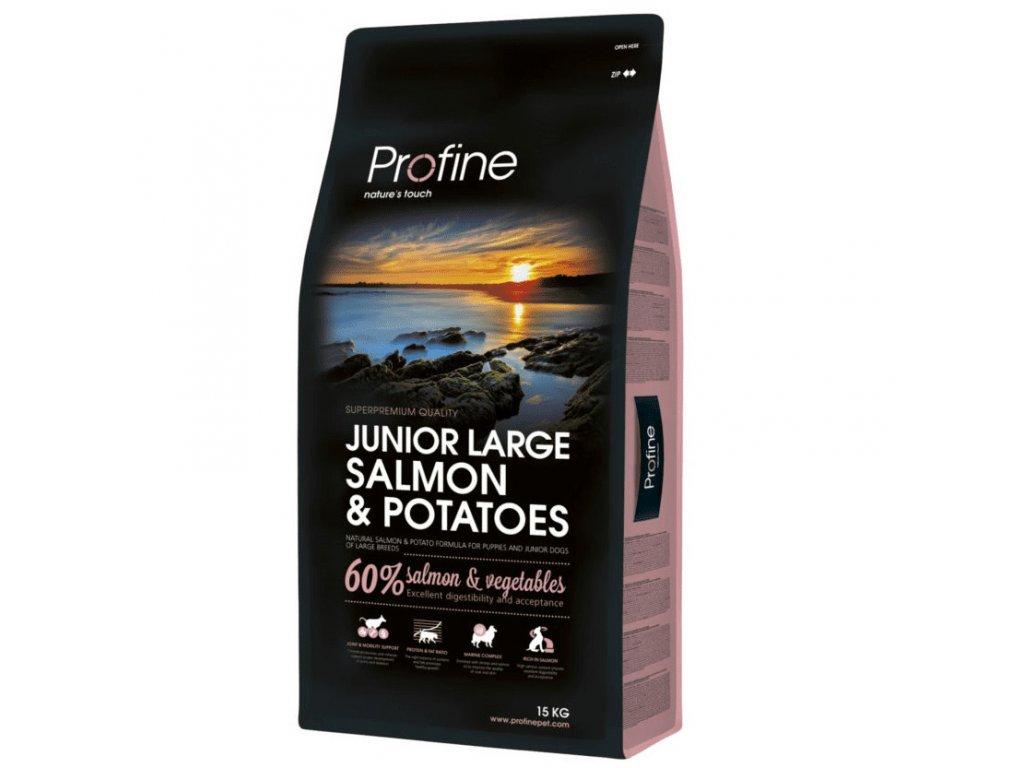 NEW Profine Junior Large Breed Salmon & Potatoes 15kg | Tenesco.cz