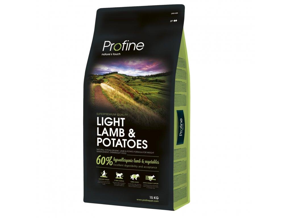 Profine Light Lamb & Potatoes 15kg  + Konzervy Profine hovězí 6x 400g