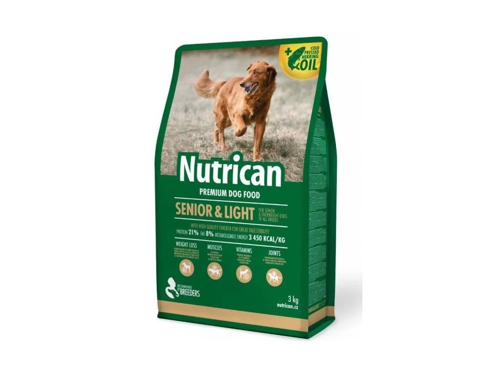NutriCan Senior & Light 3 kg