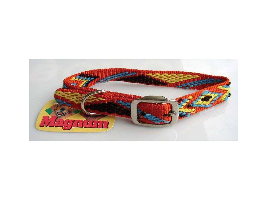720 obojek nylon indiansky 15mm x 45cm