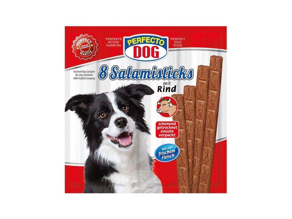 Perfecto Dog masové tyčky hovězí 8 ks 88 g