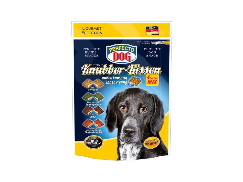 Perfecto Dog plněné polštářky MIX 100 g