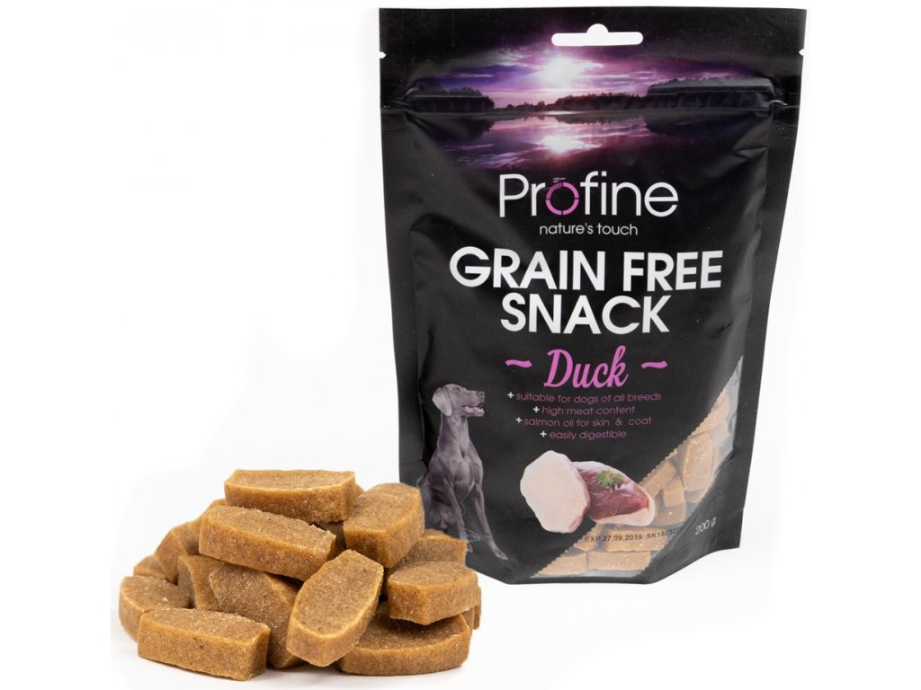 3225 profine grain free snack duck 200g