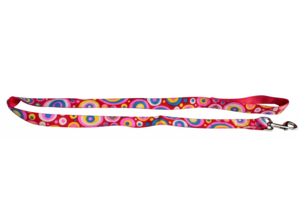 2013 voditko nylon barevne 10mm x 120cm