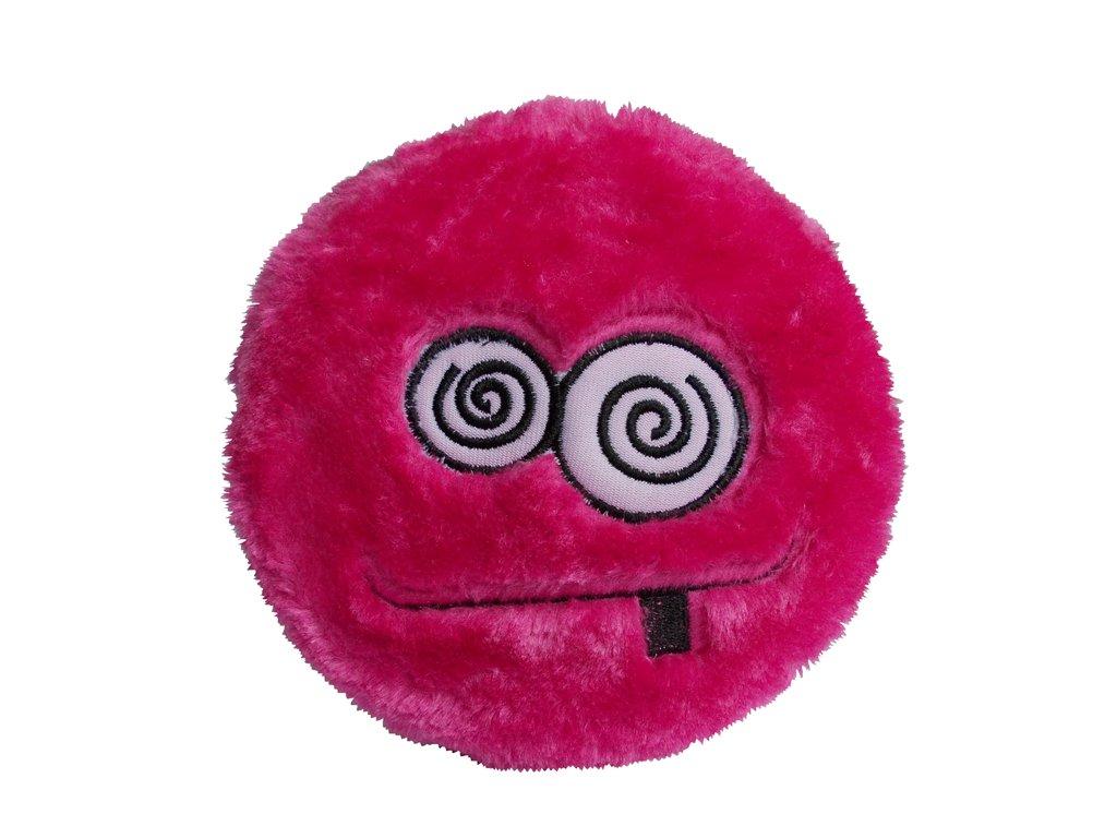 Textilní hračka zmatený smajlík
