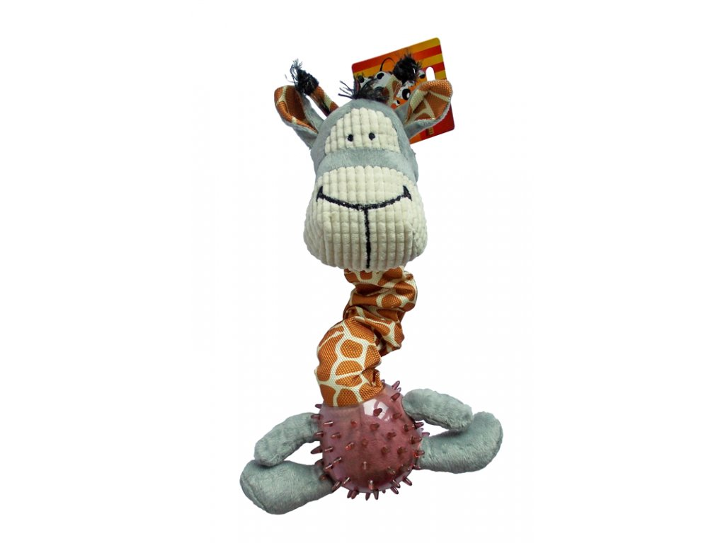 Hračka žirafa textil