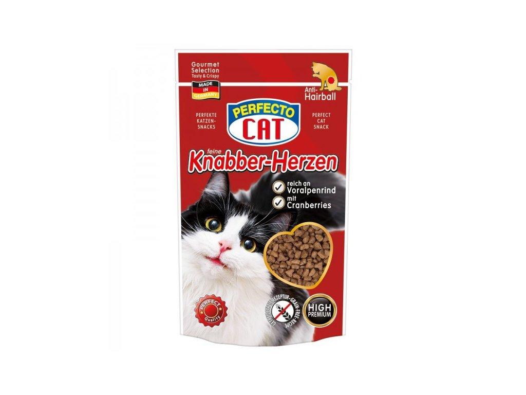 Perfecto Cat Feine Knabber Snack s Alpským šťavnatým hovězím 50 g
